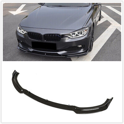 AU165.16 • Buy Front Lip Bumper Spoiler Splitter Black For BMW F30 F35 320li Base 2013-2018 US