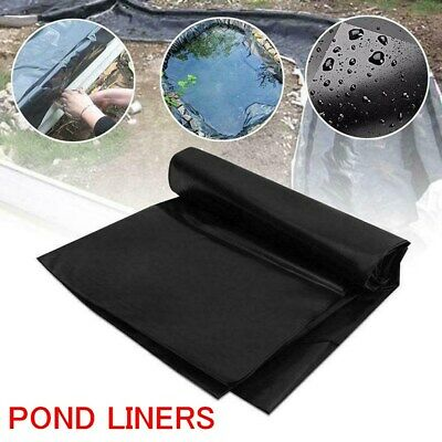 Fish POND LINER Garden Pond Landscaping Pool Plastic Thick Heavy Duty Waterproof • 14.99£