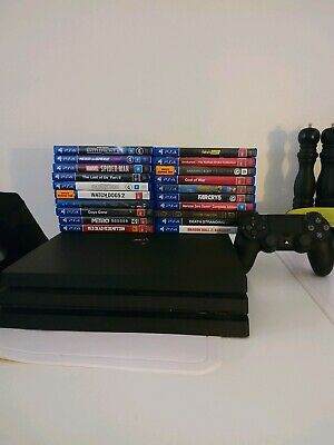 AU1100 • Buy Ps4 Pro 1TB With 22 Games