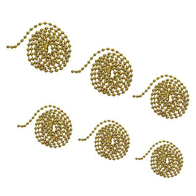 Brass Chain Necklace Ball Chain Bead Connector Clasp For Bracelet Pendant Jewel • 2.73£