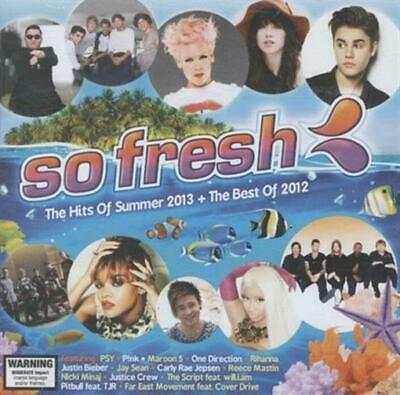 AU22.90 • Buy SO FRESH The Hits Of Summer Ft. Pink, Justin Bieber 2013 + Best Of 2012 CD NEW