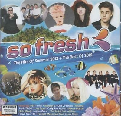 AU22.90 • Buy SO FRESH Hits Of Summer 2013 + Best Of 2012 - Pink, Justin Bieber CD NEW