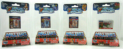 $37.95 • Buy SET/4 World's Smallest MASTERS OF UNIVERSE He-Man,Skeletor,Battle Cat,Teela MOTU