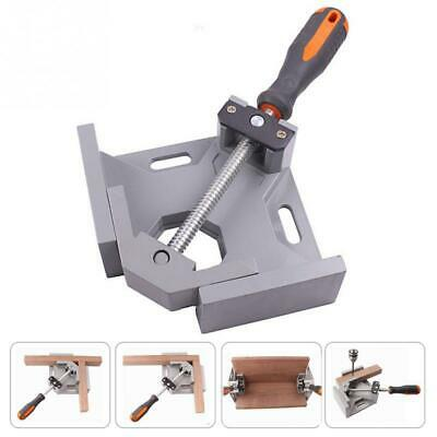 90 Degree Mitre Corner Right Angle Clamp Vice Grip Welding Woodworking Aluminium • 10.59£