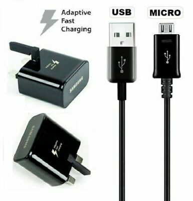 $ CDN11.91 • Buy Genuine Samsung Fast Charger Plug Or Micro USB Cable For Galaxy S7 Edge, Note 2