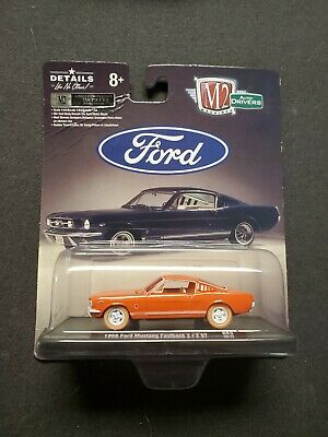 $ CDN15 • Buy M2-MACHINES Auto Driver Chase 1966 Mustang Fastback 2+2gt Card Corner Is Bad