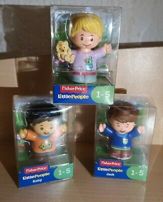 Fisher Price Little People Koby Jack Girl New Toy Figure  • 2.60£