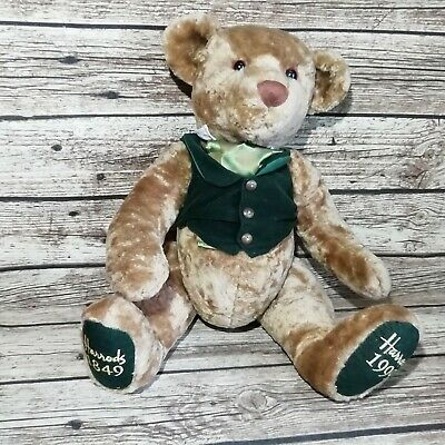 Harrods 1849-1999 Anniversary Teddy Bear - 21.5  - Jointed No Tag • 19.99£