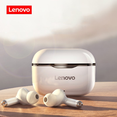 AU39.45 • Buy Lenovo Bluetooth 5.0 HIFI Bass Stereo Earbuds Nosie Reduction Headphone-White