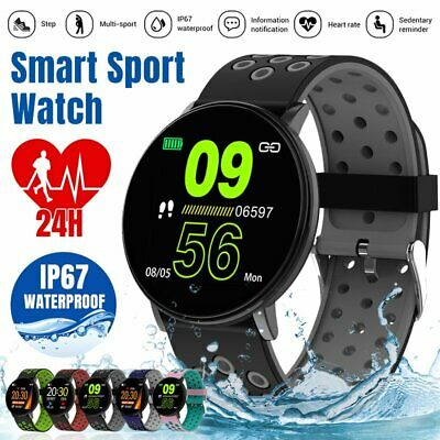 AU26.99 • Buy Bluetooth Smart Watch Fitness Tracker Sports Heart Rate Monitor For IOS Android