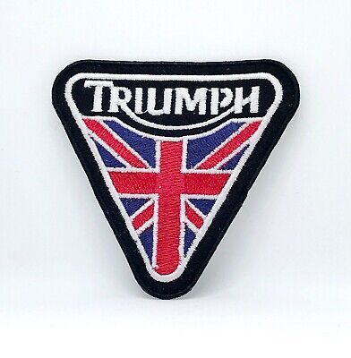 Triumph Iron Or Sew On Embroidered Patch • 1.89£