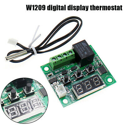 Digital Temp Thermostat Temperature Controller Sensor Relay Switch -50-110°C. • 1.99£