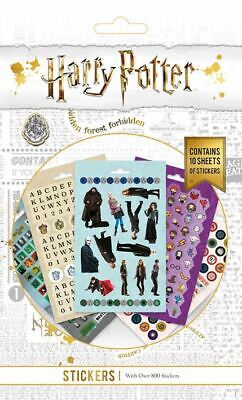£4.99 • Buy HARRY POTTER Huge Set Of 800 Individual Stickers In Sticker Book Set