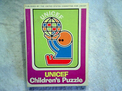 $ CDN15.13 • Buy UNICEF CHILDREN'S PUZZLE Jigsaw Complete 9x12 United States Committee For Unicef