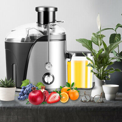 £30.99 • Buy Electric 500ML Juicer Machine Cold Press Fruit & Veg Extractor Blender Stainless