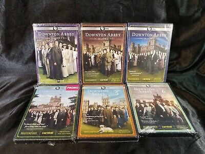 Downton Abbey The Complete Series Collection Seasons 1- 6 DVD Set PBS UK Edition • 44.39£