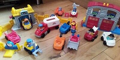 Fisher Price Little People Cars And Key Workers Bundle • 9£