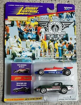 $2.99 • Buy Johnny Lightning Indianapolis 500 1978 Corvette Pace Car & Al Unser