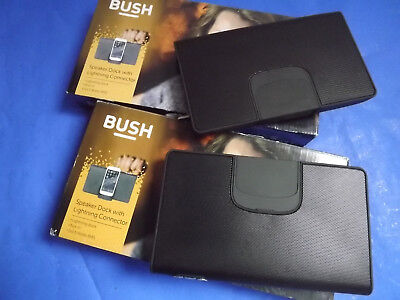 2x Bush - Lightning Speaker Dock For Apple IPod IPhone IS460 Spares Repairs • 0.99£