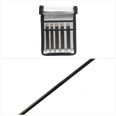 £58.22 • Buy KnitPro Karbonz Double Pointed Needle Sock Kit 15cm, Black And Silver
