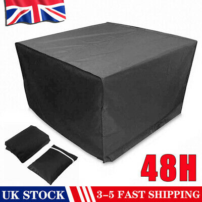 Heavy Duty Outdoor Garden Patio Furniture Table Cover For Rattan Table Cube Set • 11.83£