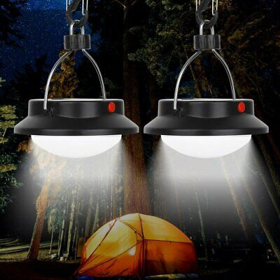 2Pcs Battery Power Panel Tent Camping Lights 60 LED Portable Outdoor Hiking Lamp • 11.99£