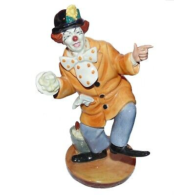 ROYAL DOULTON Figurine Ornament ' The Clown ' HN2890 1st Quality • 135£