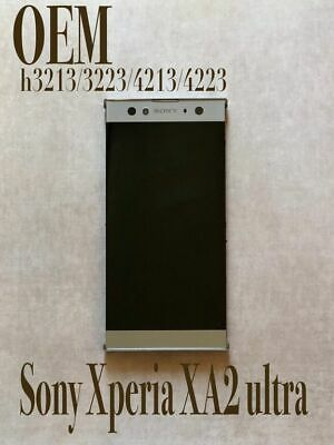 $ CDN109.93 • Buy Sony Xperia XA2 Ultra LCD Touchscreen With Frame H3213/3223/4213/4223 OEM Silver