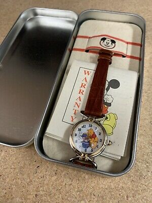 $49.99 • Buy New Vintage Disney Winnie The Pooh Fossil Watch With Collectible Tin Case