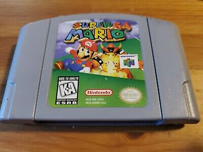$ CDN54 • Buy Nintendo N64 Game Super Mario 64 TESTED AUTHENTIC  Cartridge ONLY