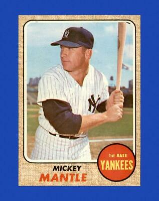 $ CDN136.32 • Buy 1968 Topps #280 Mickey Mantle NM-MT OR BETTER (altered Stock) *GMCARDS*