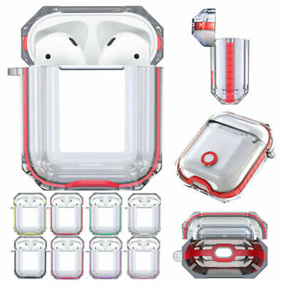 AU12.99 • Buy For Apple AirPods 2/1 Case Clear Protective AirPod Charging Earphones Case Cover