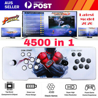 AU245.94 • Buy NEW Pandora's Box 18S 3D 4500 Games Retro Key 3D Games FULL 2 Players Arcade HD