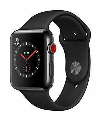 $ CDN1341.54 • Buy Apple Watch Series 3 (GPS + Cellular Model) - 42mm Space Black Stainless Steel C