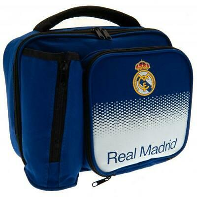 £14.99 • Buy Real Madrid FC Lunch Bag With Bottle Holder - Back To School Birthday Gift