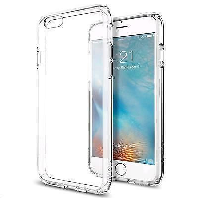 AU38.18 • Buy Spigen IPhone 6s Ultra Hybrid Case (Crystal Clear)
