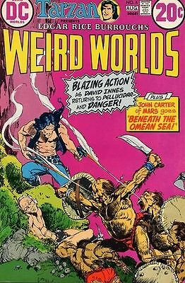 $3 • Buy WEIRD WORLDS #6 Fine, John Carter Of Mars, Tarzan, Edgar Burroughs DC Comics '72