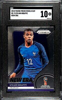 $ CDN334.54 • Buy 2018 Prizm World Cup Kylian Mbappe SGC 10 Comparable To PSA & BGS HOT Soccer PRO