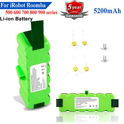 Battery For IRobot Roomba 500 600 700 800 595 620 630 650 660 790 780 880 5.2Ah • 19.59£