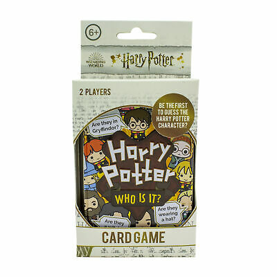 £7.99 • Buy Harry Potter Who Is It Licensed Guessing Card Game 2 Players