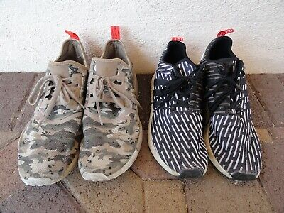 $ CDN78.76 • Buy Lot Of (2) Adidas NMD Primeknit Running Shoes Sneakers, Men's Size 13 And 14,