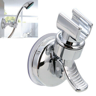 Shower Handset Head Holder Adjustable Bath Wall Mounted Suction Bracket • 5.06£