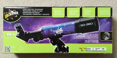 Edu Science Telescope With Table Top Tripod • 3£