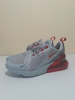 $129.99 • Buy Nike Air Max 270 Men's Shoes Size 9.5 AH8050-018 Wolf Grey/University Red