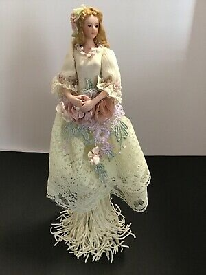 $ CDN32.65 • Buy Popular Creations Victorian Ivory Tassel Doll Porcelain Body W/Stand