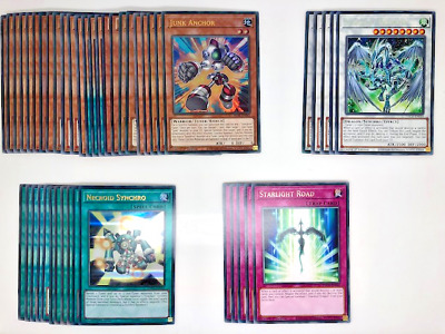 Yugioh - Competitive Stardust Dragon/Yusei Fudo Deck + Extra Deck *Ready To Play • 15.49£