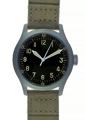 $ CDN326.34 • Buy MWC A-11 A Classic 1940s Pattern 24 Jewel Automatic WW2 USAAF Aircrew Watch