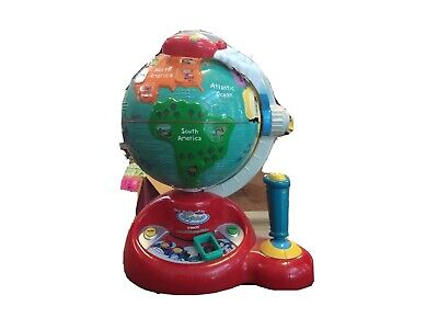 Little Einsteins Learn And Discover Globe Talking Toy Rocket Vtech Geography • 34.72£