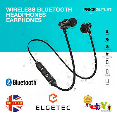 Wireless Bluetooth Headphones Earphones Sports PREMIUM  For Samsung IPhone UK • 3.99£