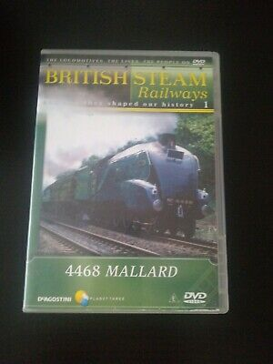 Dvd British Steam Railways 4468 Mallard Yy • 1.99£